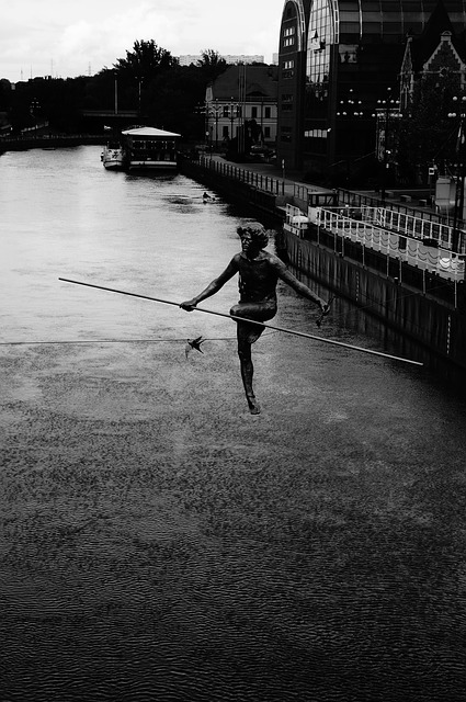 crime poetry - Tightrope